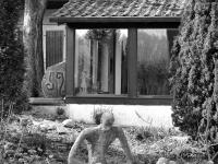 Ansicht Garten und Atelier