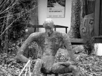 Skulptur vorm Atelier