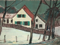 016 Das Haus des Malers, 1970, 69,5 x 45 cm