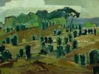 147 Wacholder, 1972, 49 x 32 cm