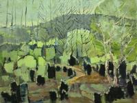 330 Wacholderwald, 1973, 87 x 70 cm