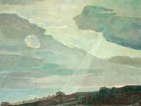 055 Wolkenhimmel, 1973, 119,5 x 80 cm
