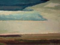 093 Vor der Dämmerung, 1973, 34,5 x 64,5 cm