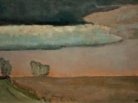 096 Abenddämmerung, 1973, 39,5 x 59 cm
