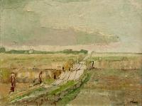 267 Weite Landschaft, 1951, 39,5 x 50 cm