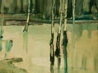 001 Im Venn, 1973, 60 x 45 cm