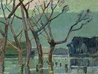 021 Überschwemmung bei Lippe, 1968, 73 x 54 cm