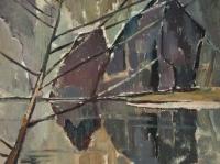 022 Webende Stille, 1964, 76 x 61 cm