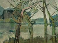178 Herbst an der Lippe, 1968, 42 x 68 cm