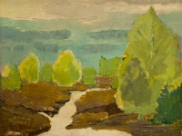 197 Maibüsche, 1967, 46 x 56 cm