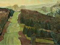 225 In der Hohen Mark, 1951, 38,5 x 65,5 cm
