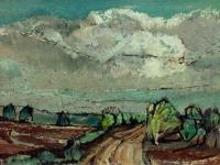 236 Heideweg, 1961, 39 x 70 cm